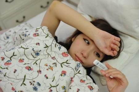 病気の女性 (1)