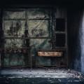 不気味なドア